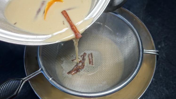 flan de huevo con leche de coco