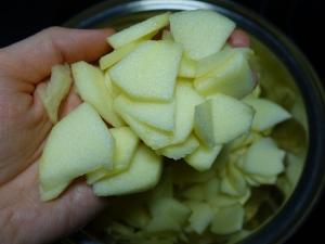 mi compota de manzana