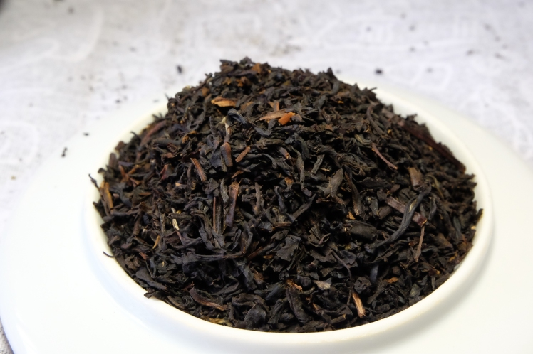 té negro con vainilla
