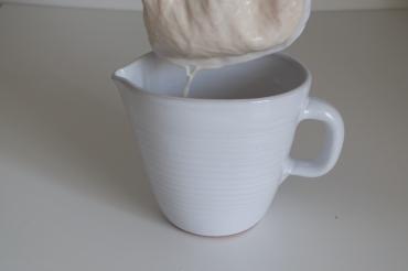 leche avellanas tostadas