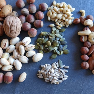 activar frutos secos y semillas