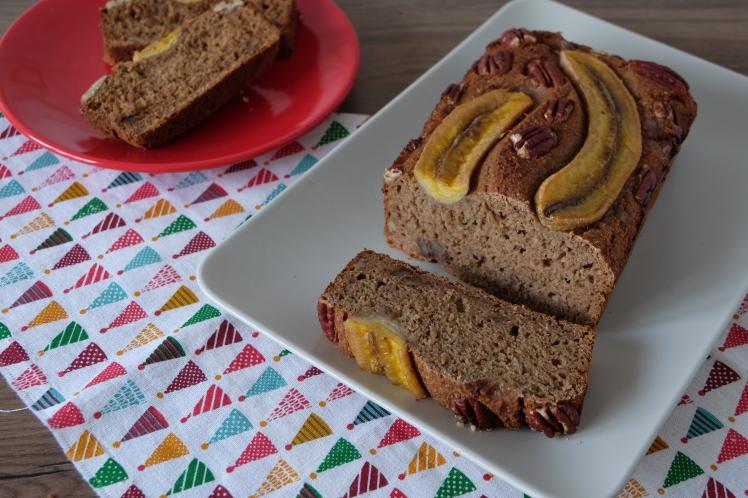 Pan de plátano y nueces