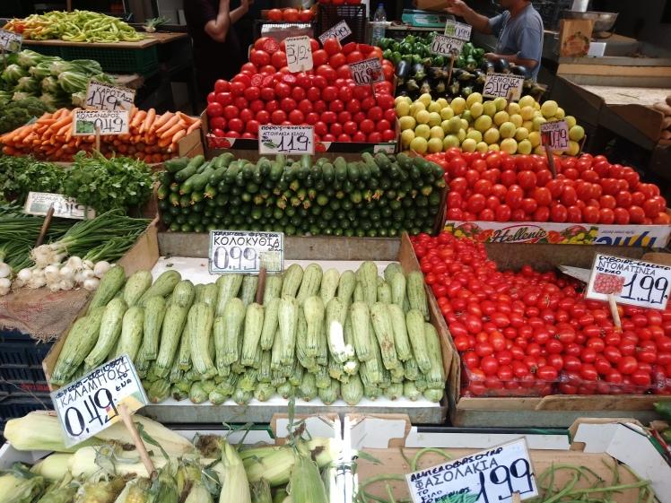 Mercado central Atenas