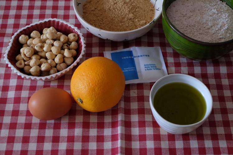 Galletas de aceite de oliva y naranja