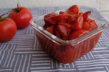 Tomates confitados