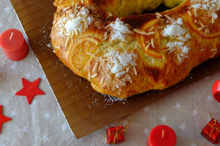 Roscón de Reyes con aceite de oliva