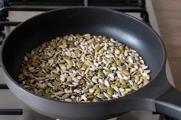 Tostar semillas