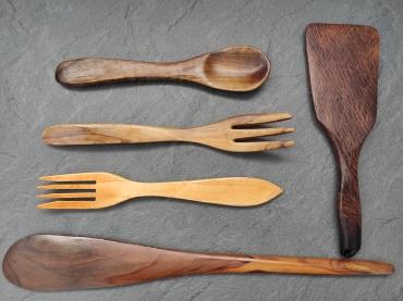cómo cuidar utensilios de madera