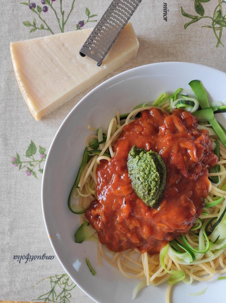 espaguetti de calabacín