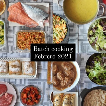 batch cooking febrero 2021