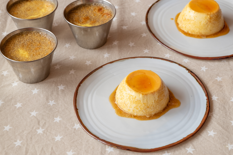 flan de huevo