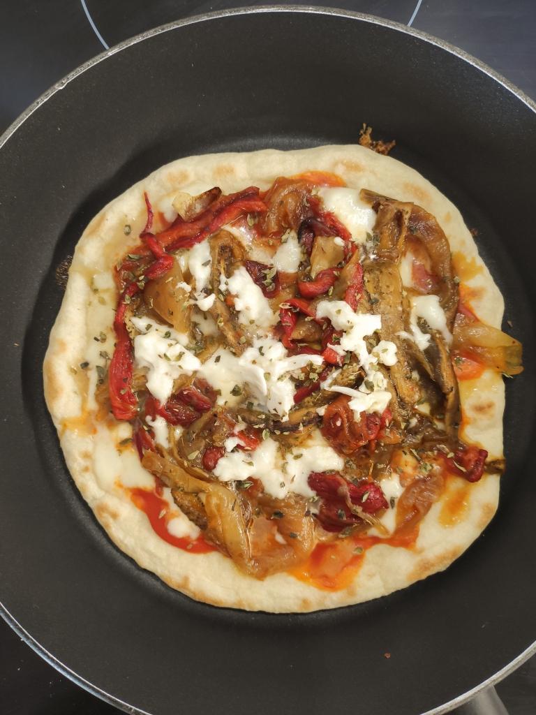 pizza sin horno